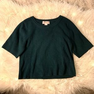 Forever 21 Contemporary Cropped Sweater